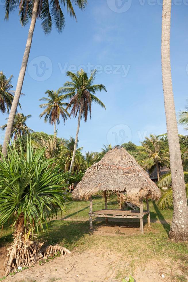 strand bungalow foto