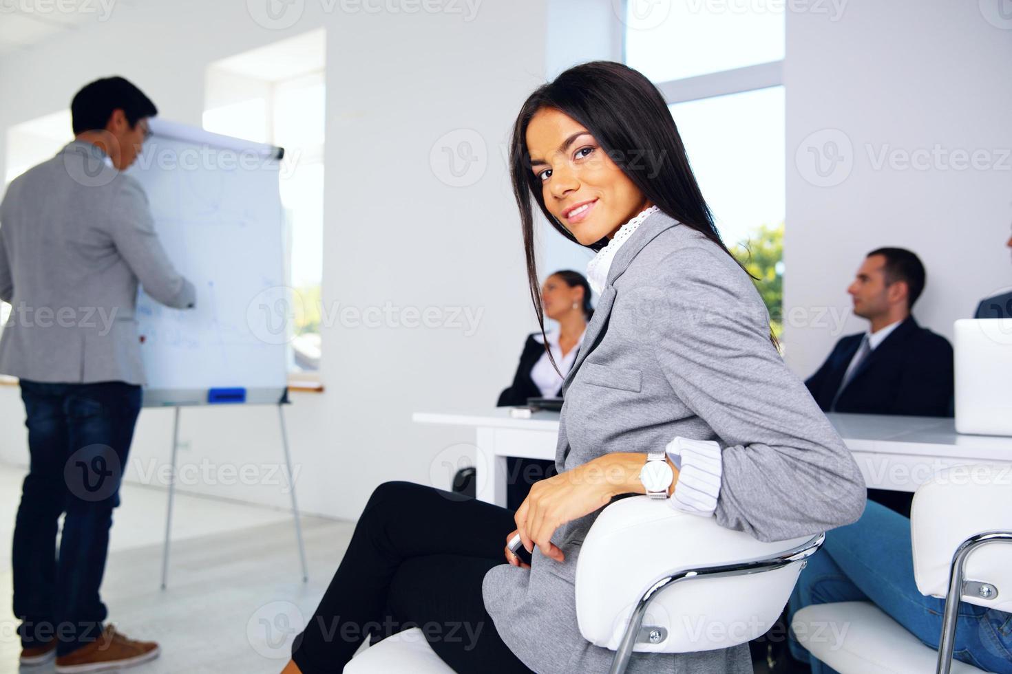 zakelijke vergadering. zakelijke bijeenkomst. foto
