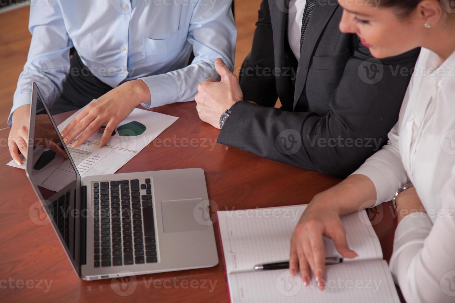 zakelijke bijeenkomst foto
