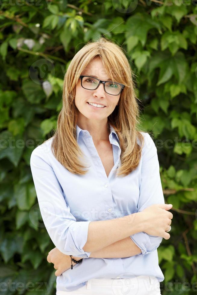 moderne zakenvrouw portret foto