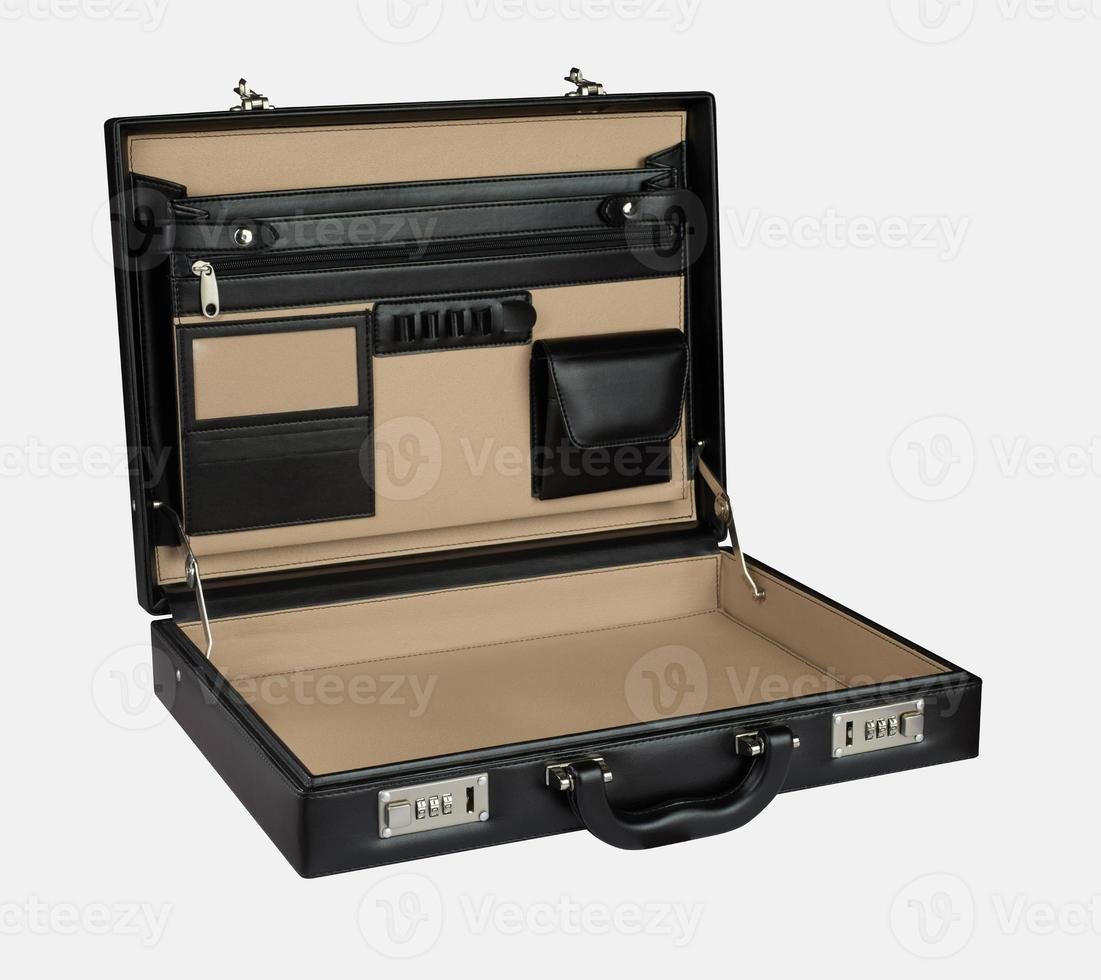 geopende koffer foto