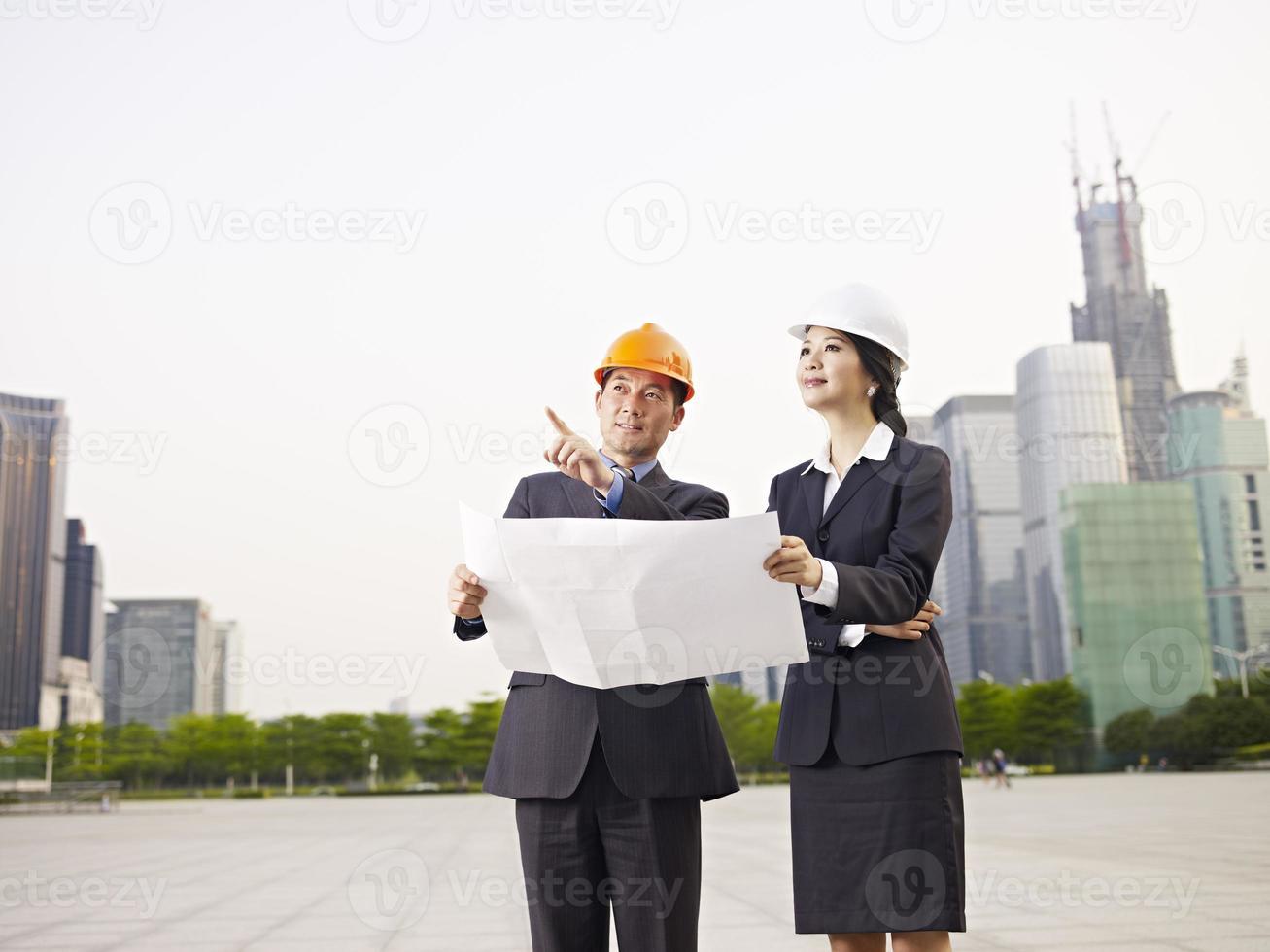 Aziatische zakenmensen foto