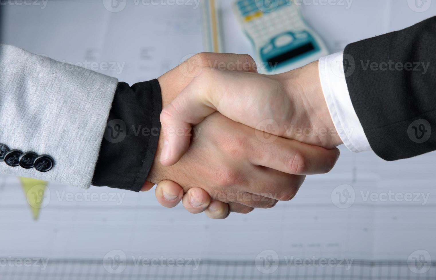 zakelijk partnerschap foto