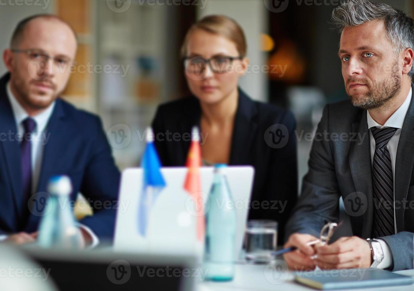 zakelijke vergadering foto