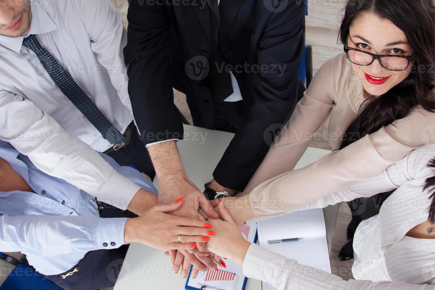 zakelijk teamwork foto