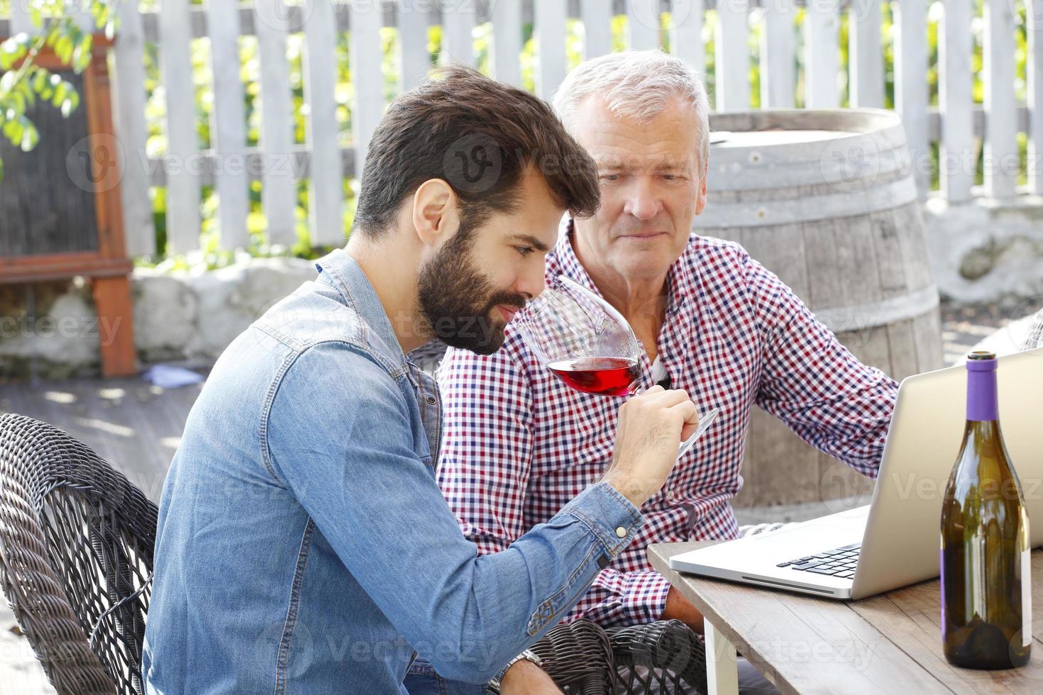 wijnmakerij foto