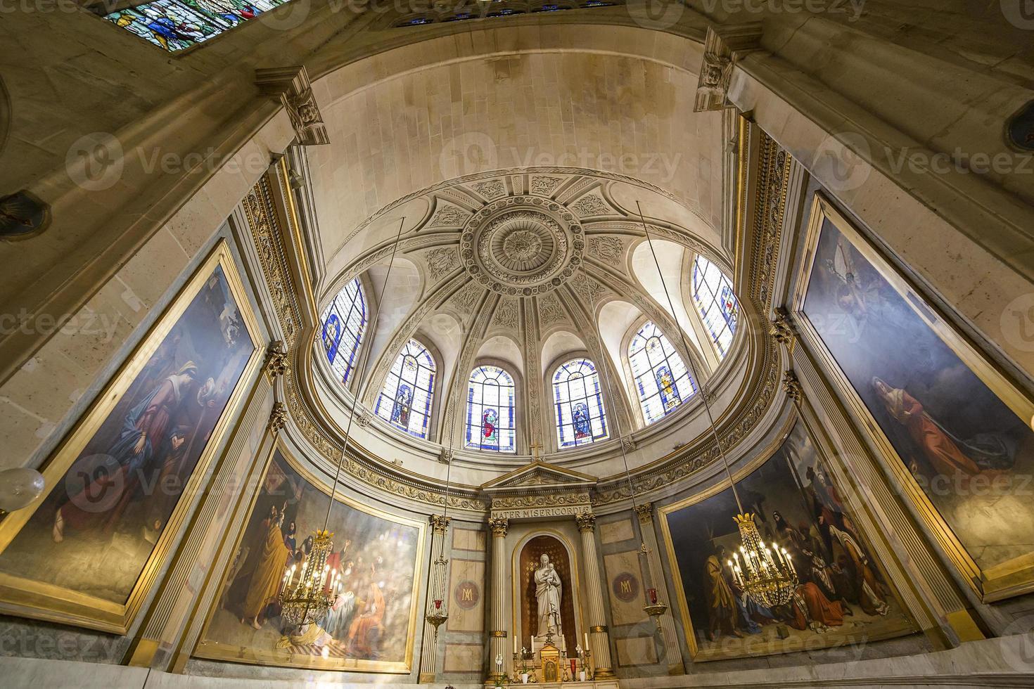 Saint Etienne du Mont Church, Parijs, Frankrijk foto
