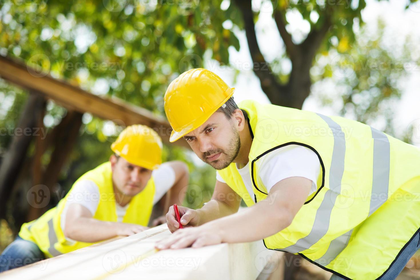 bouwvakkers foto
