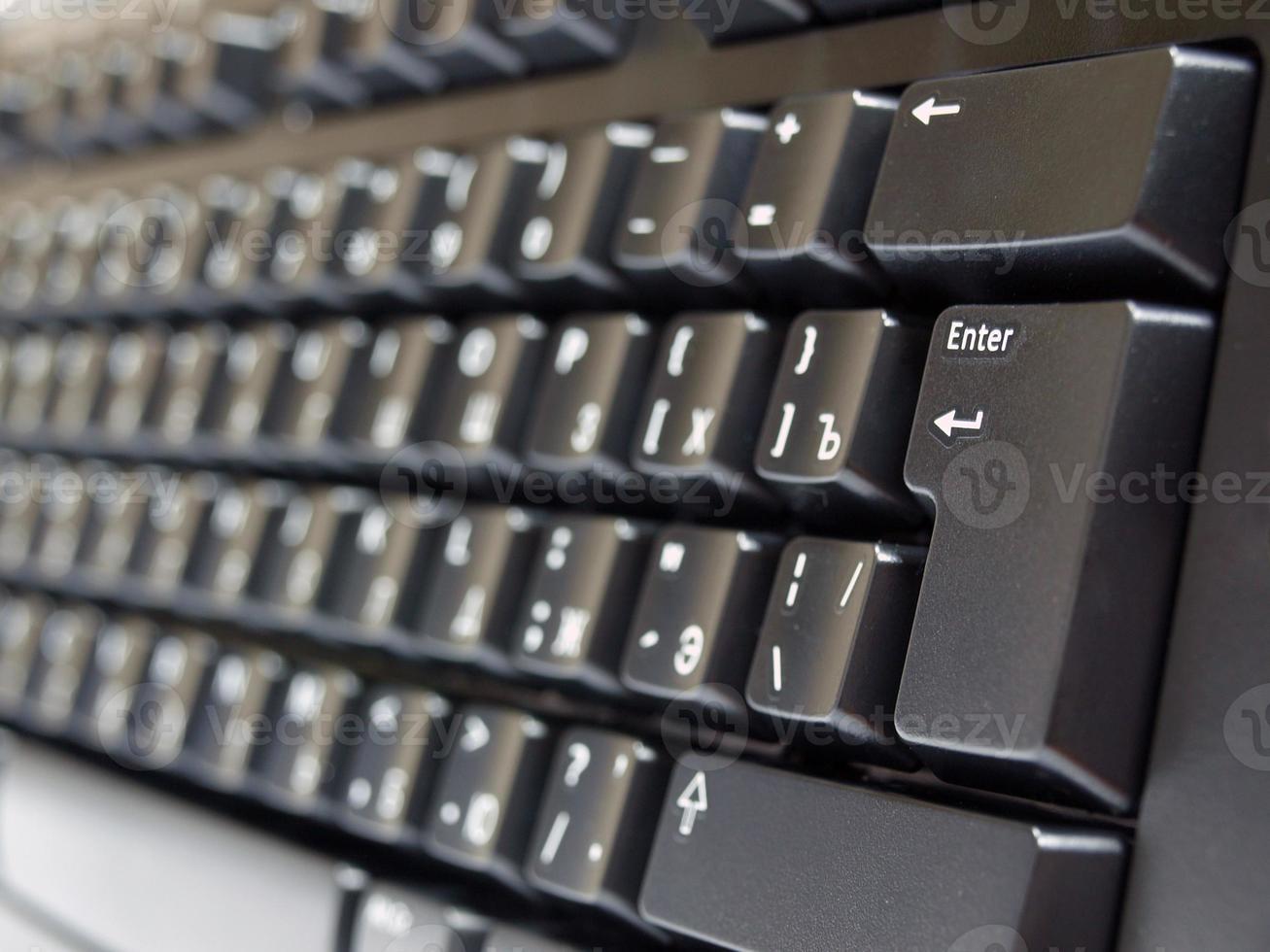 zwart toetsenbord close-up foto