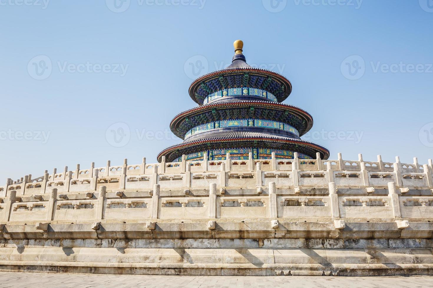 de tempel van de hemel in Peking, het werelderfgoed foto