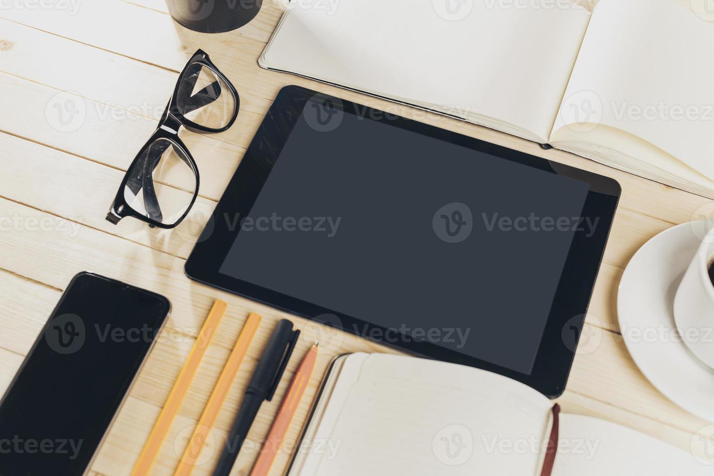 digitale tabletcomputer foto