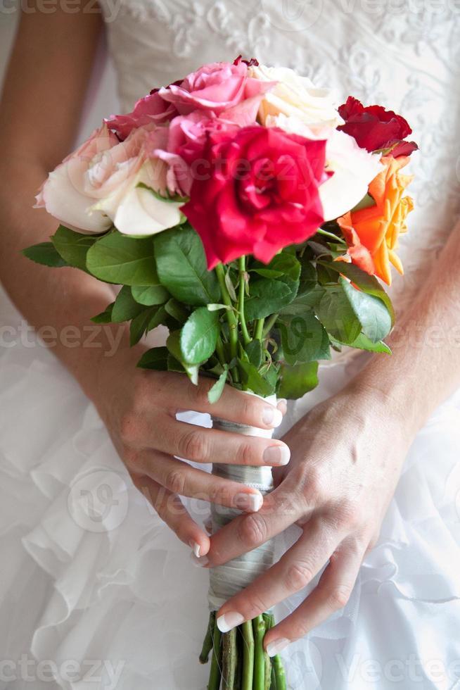 bruidsboeketten foto