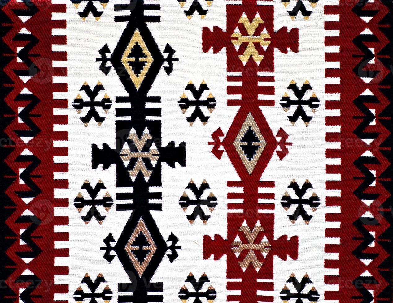 Oosters Turks tapijtpatroon foto
