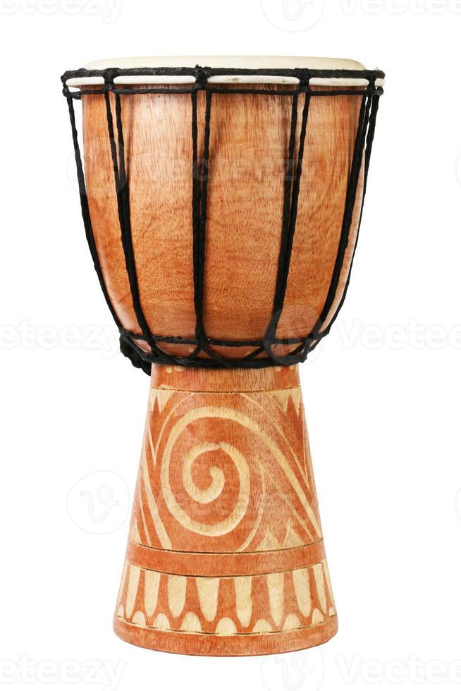 originele Afrikaanse djembe drum foto