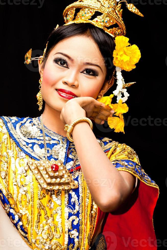Thaise klassieke danser foto