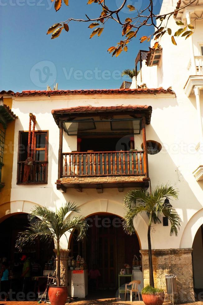 Spaans koloniaal huis. foto
