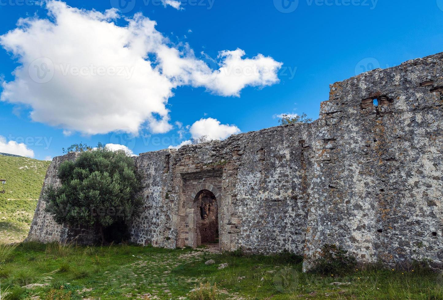 kasteel in Griekenland foto