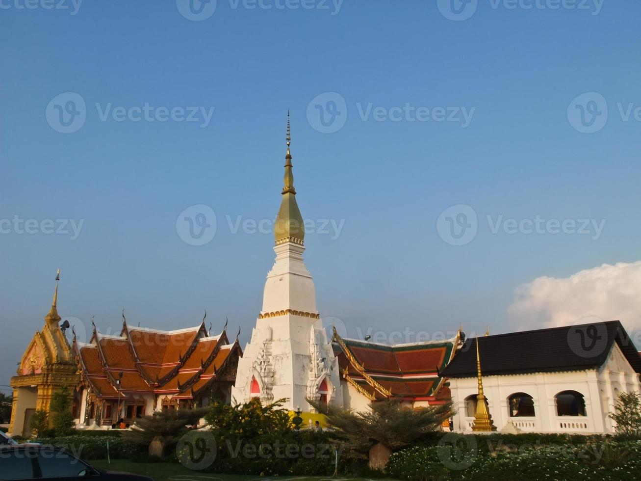 phra die choeng vriendpagode in Sakon Nakorn, Thailand foto