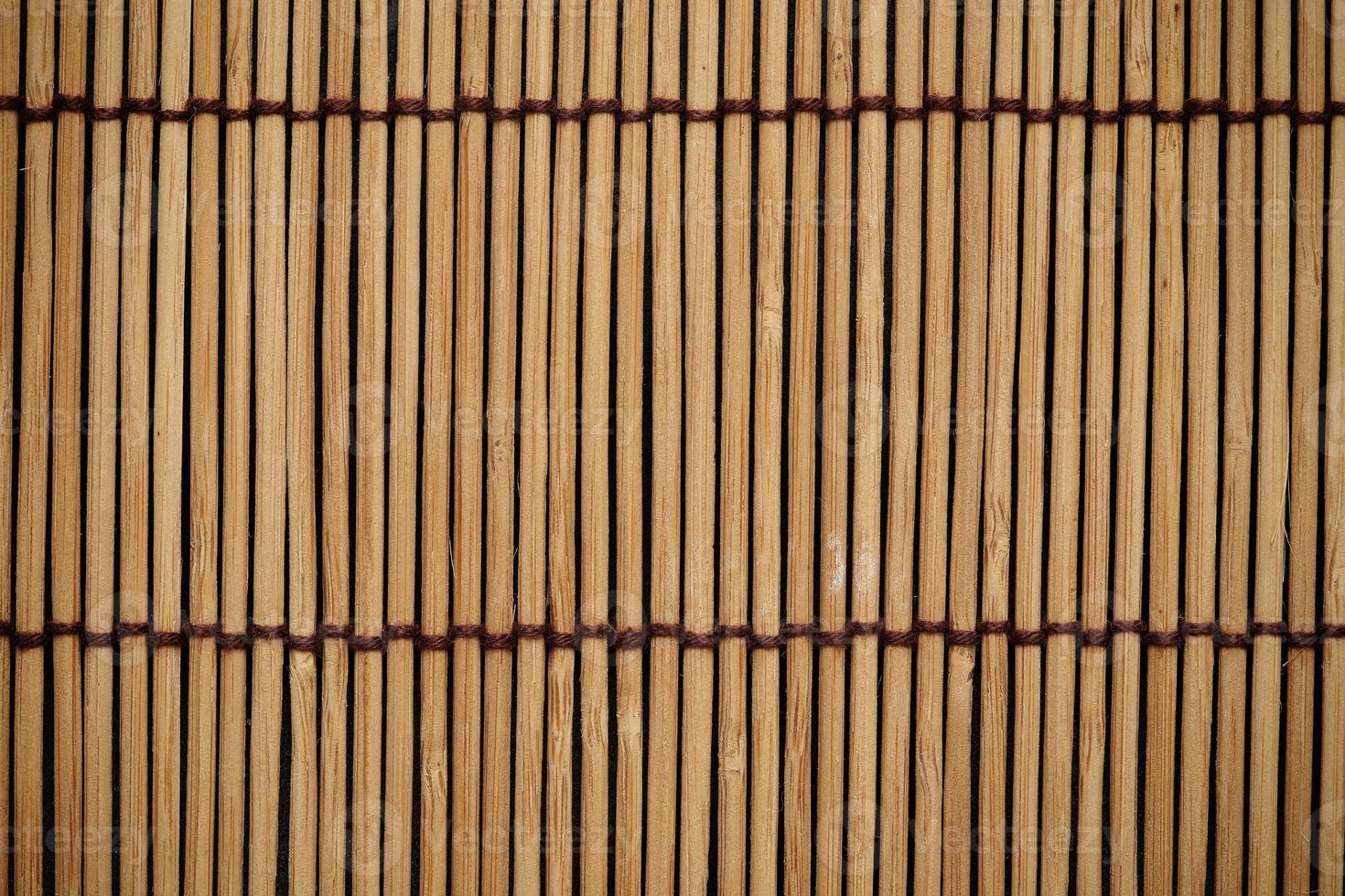 de textuur en het patroon van de Japanse mat achtergrond foto