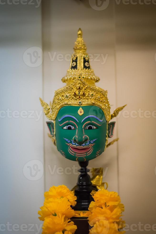 gezicht groen (thailand) foto