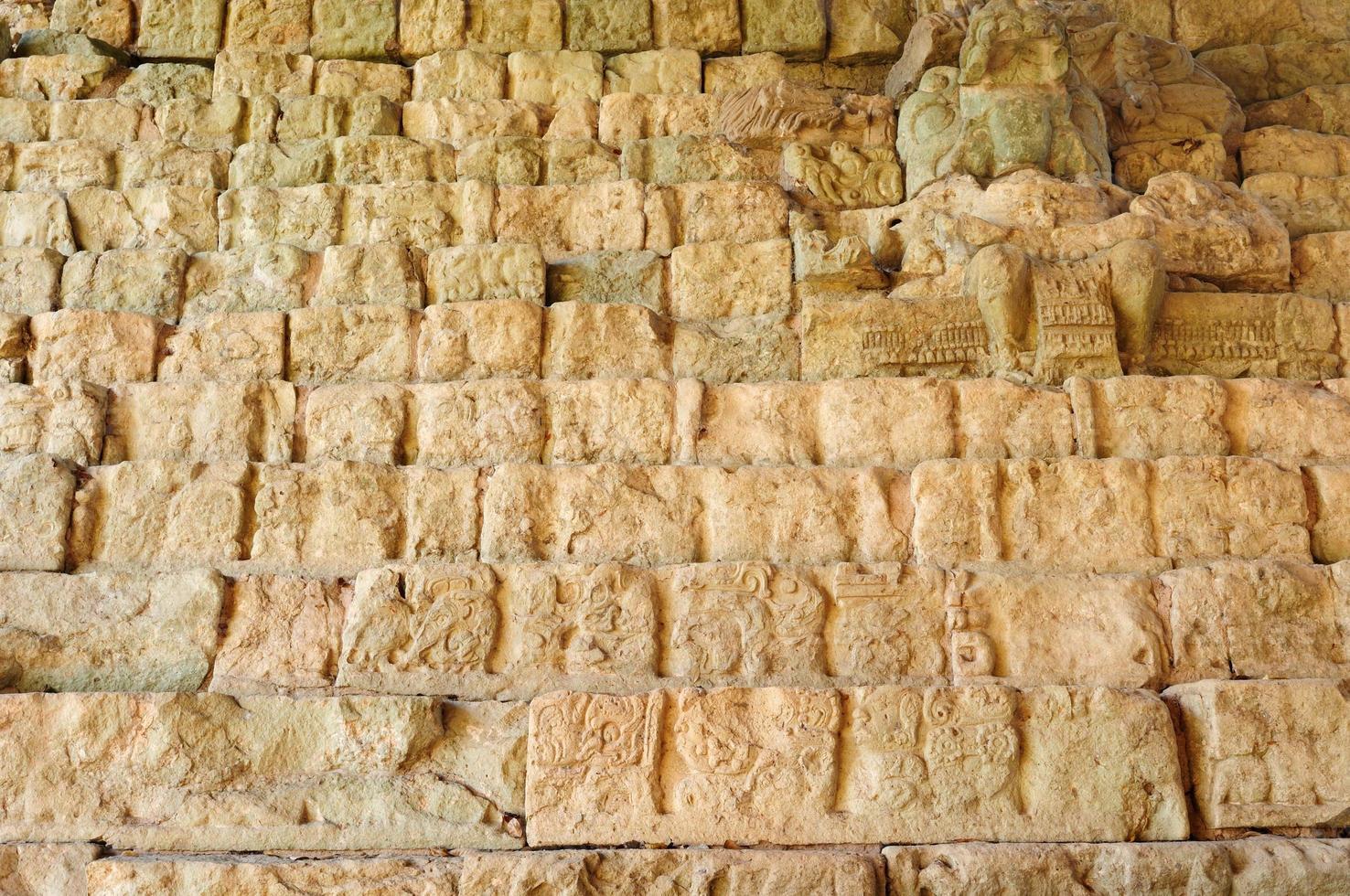 Copan Maya-ruïnes in Honduras foto