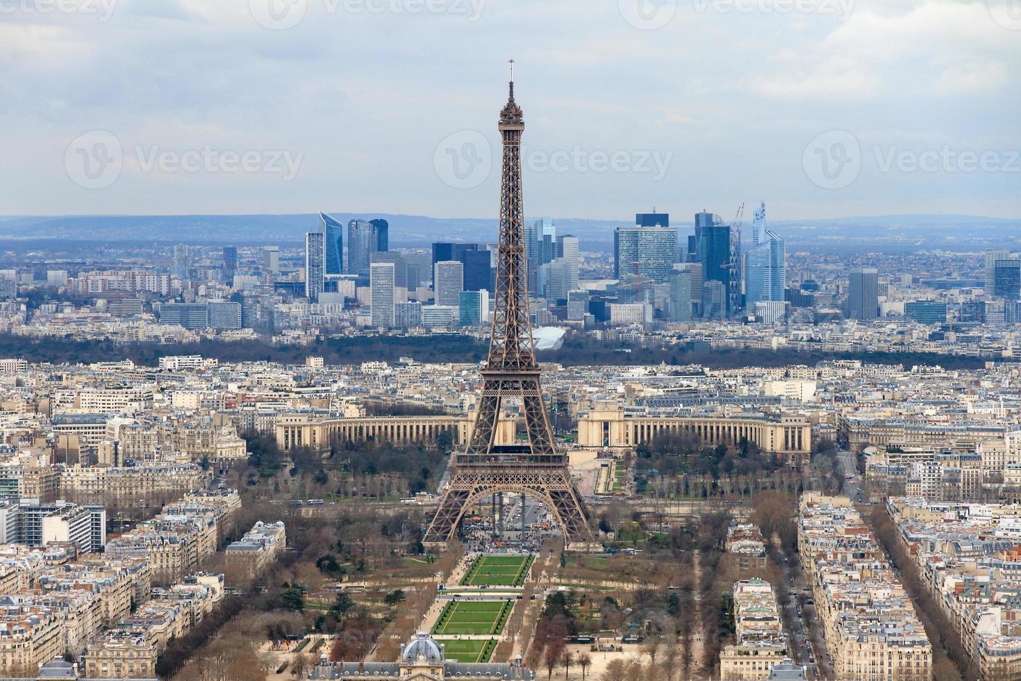 stadsgezicht Parijs foto