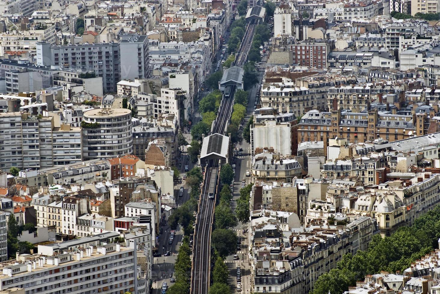 luchtfoto van Parijs foto