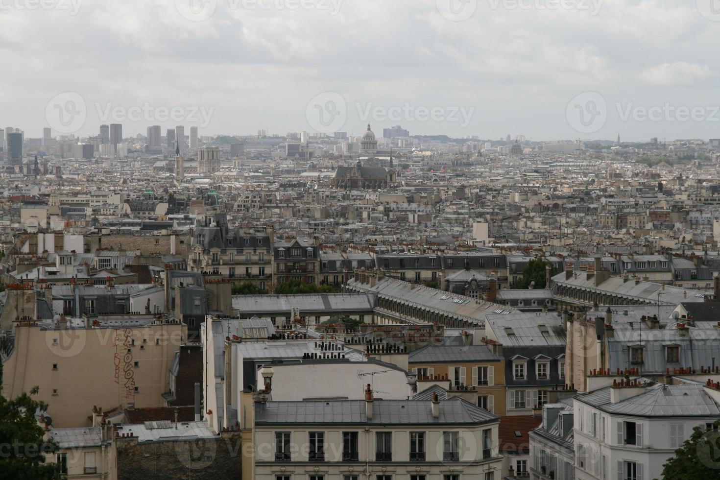 parijs overzicht foto