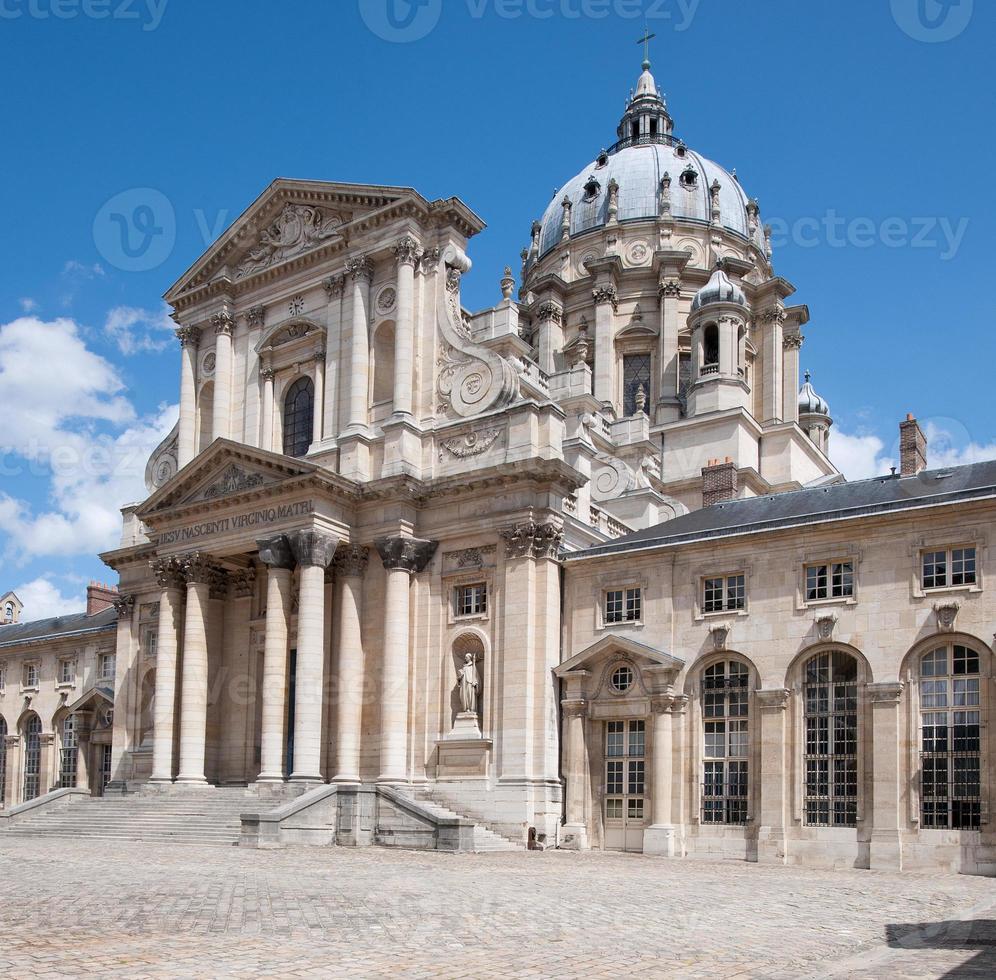 kerk van de val-de-grâce (église royale du val-de-grâce) (parijs, frankrijk) foto