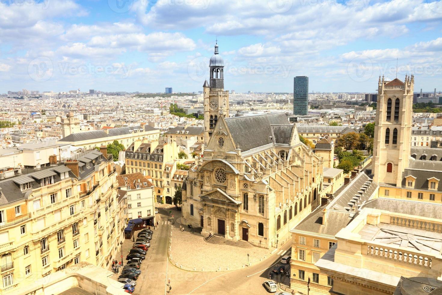 Parijs retro foto
