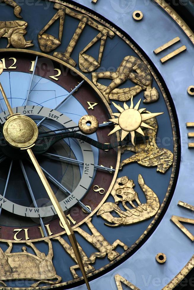 astrologische klok foto