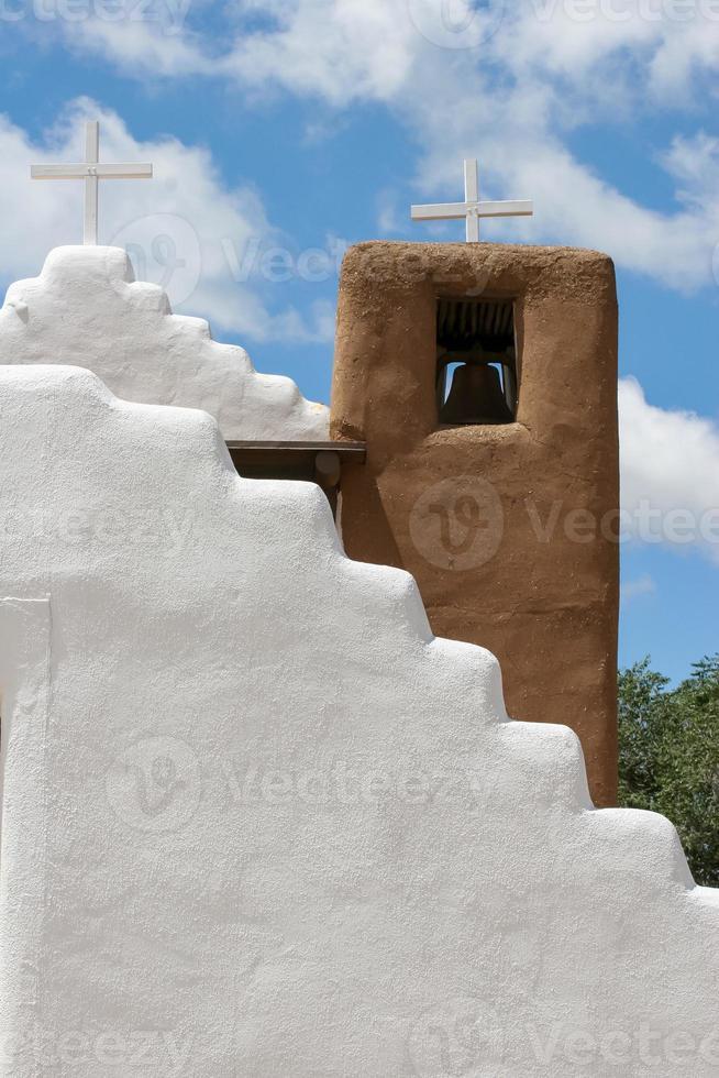 San Geronimo kapel in Taos Pueblo, Verenigde Staten foto
