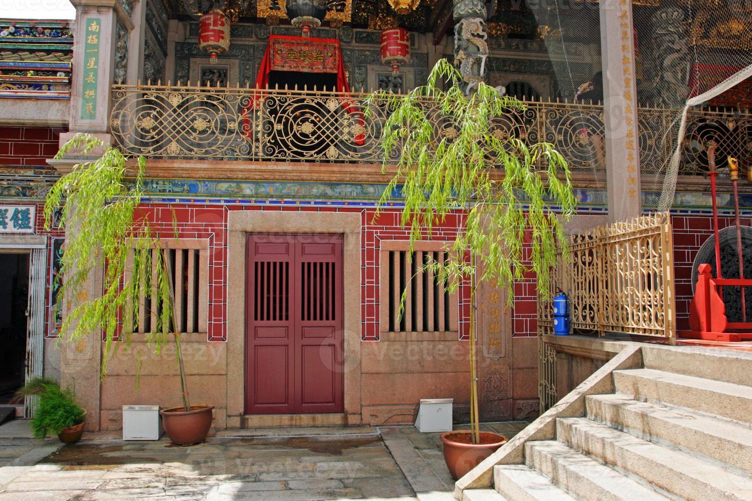george stad unesco werelderfgoed, penang, maleisië foto