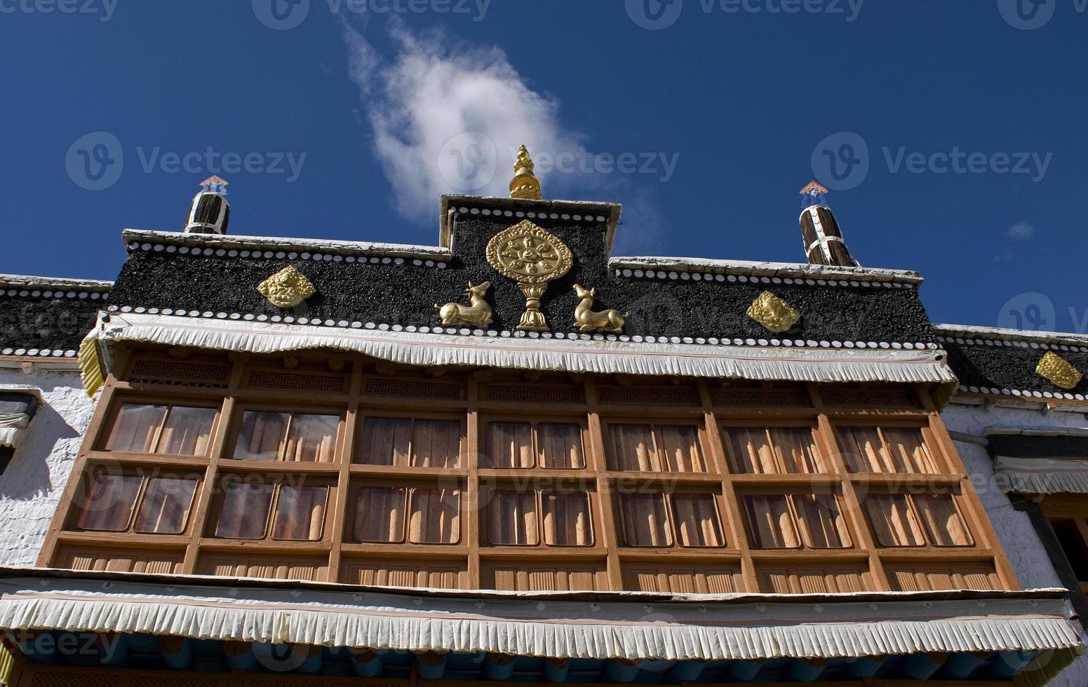 sakar klooster, leh, ladakh, india foto