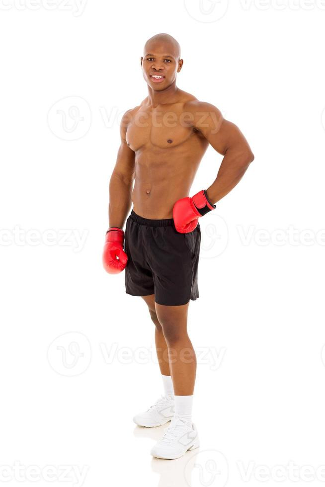 Afro-Amerikaanse bokser foto