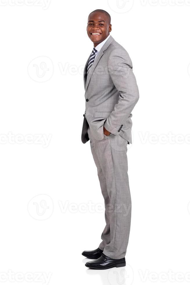 Afro-Amerikaanse zakenman foto