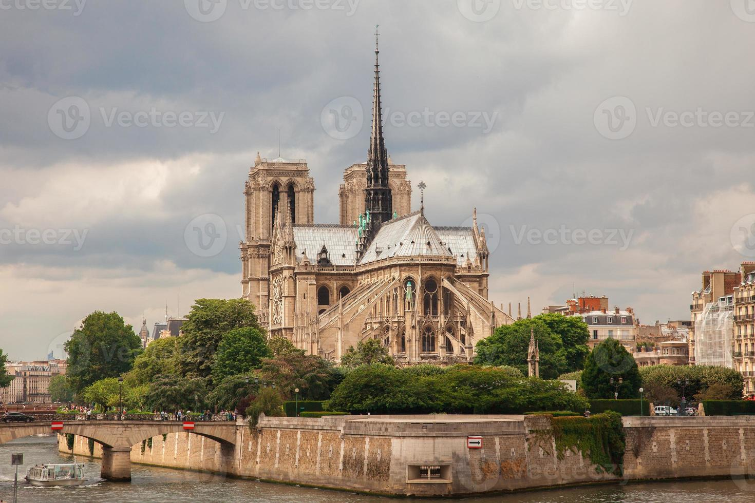 Notre Dame kathedraal in Parijs foto