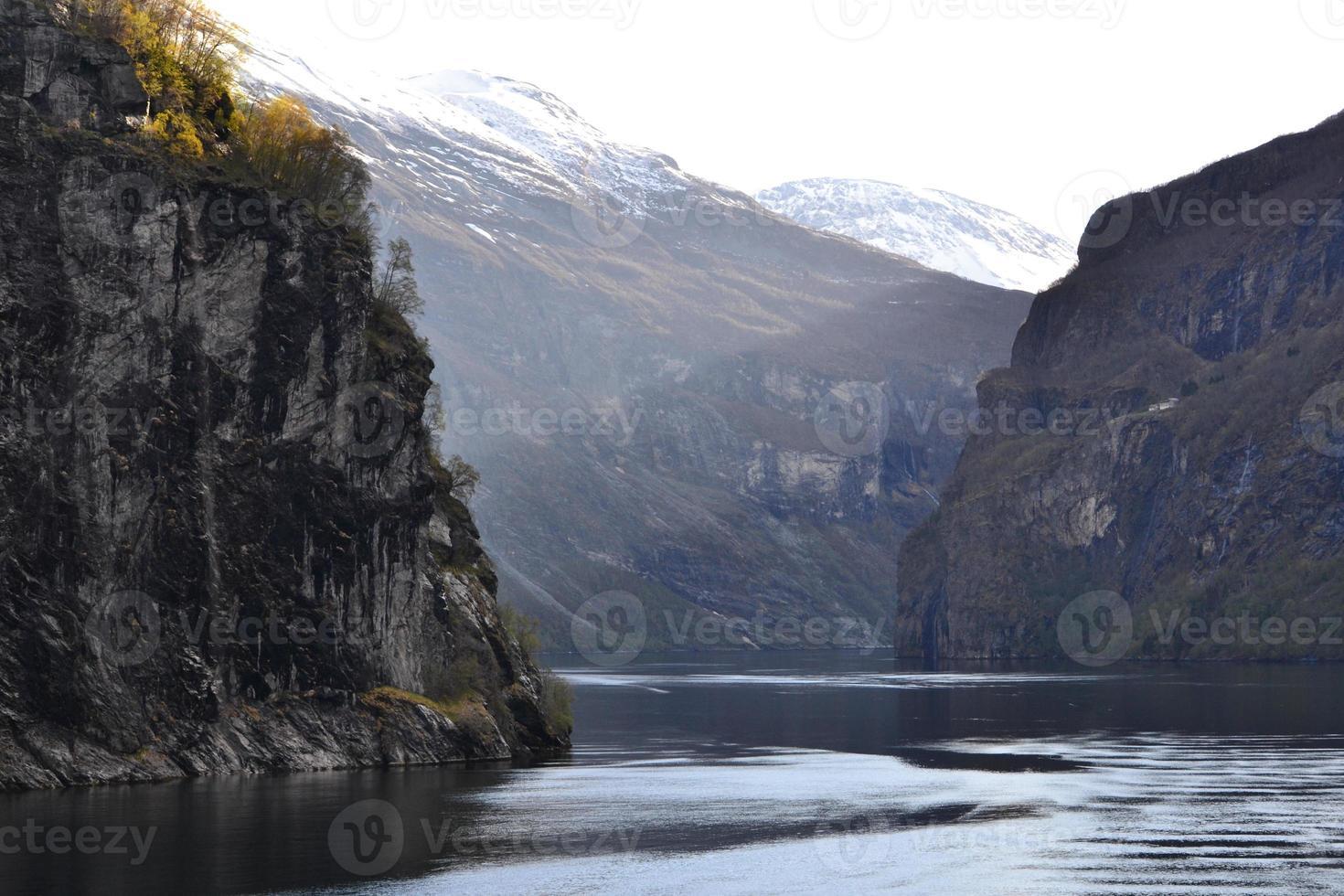 de geirangerfjord foto