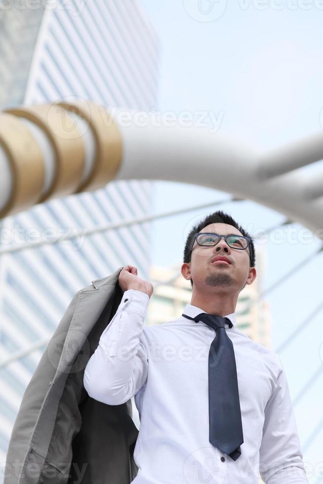 Aziatische zakenman foto