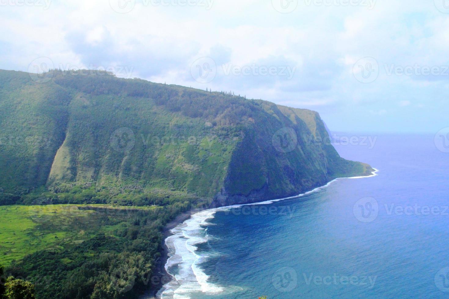 prachtige natuurlijke omgeving van Hawaï foto