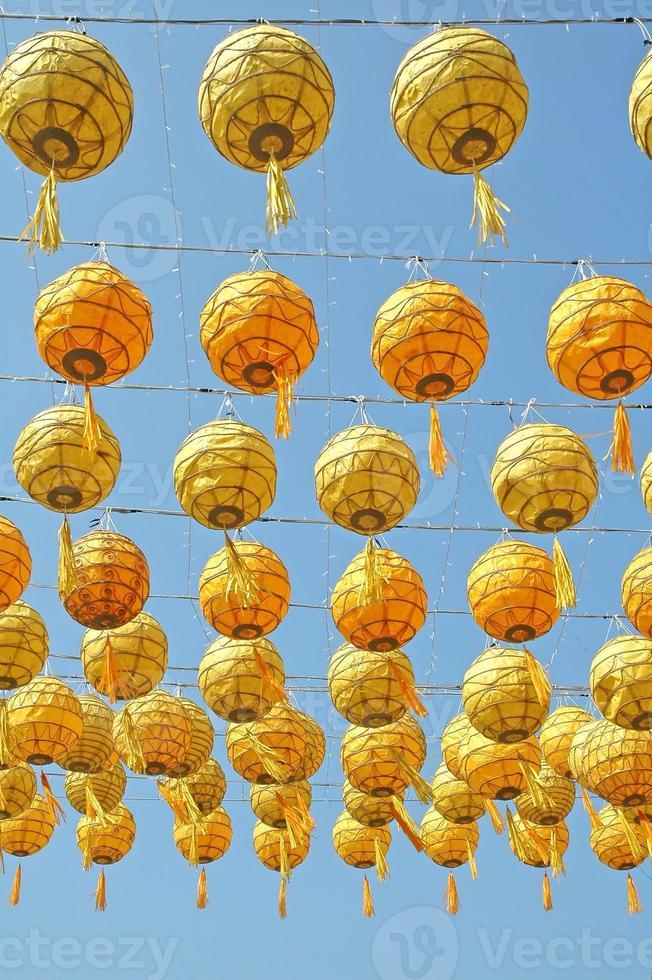 Aziatische lantaarn foto