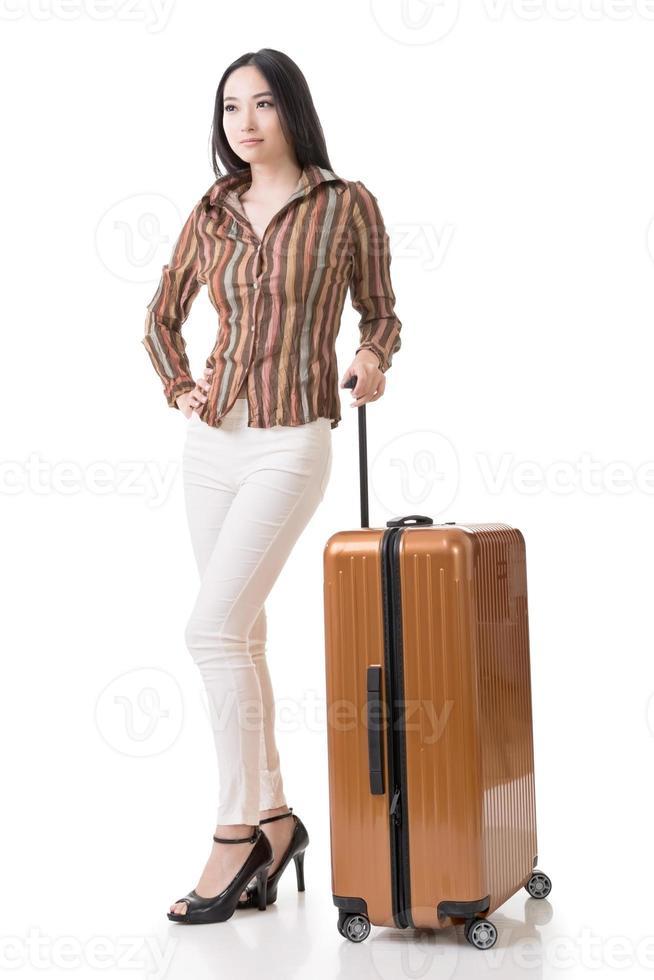 reizende Aziatische vrouw foto