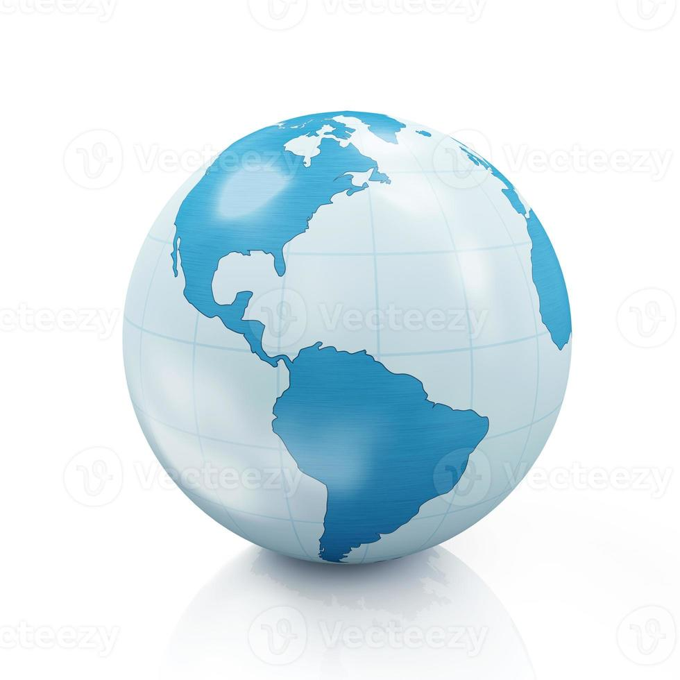 stijl earth globe foto