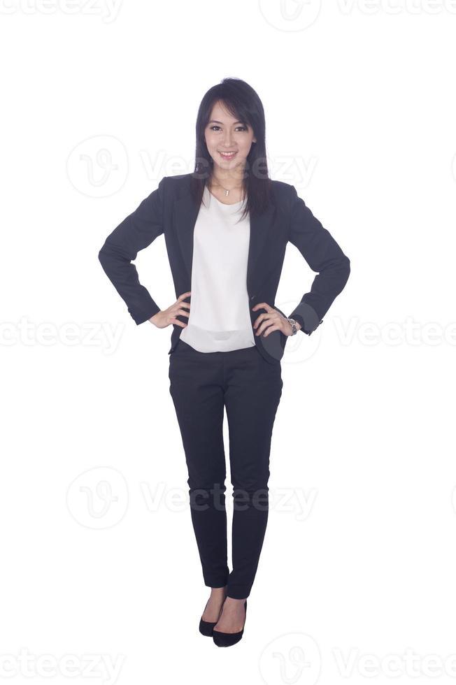 Aziatische zakenvrouw foto