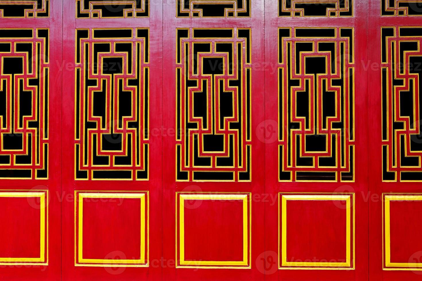 deuren met een Aziatisch thema foto