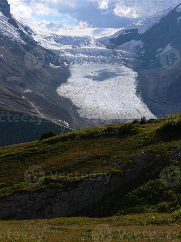 athabasca gletsjer foto