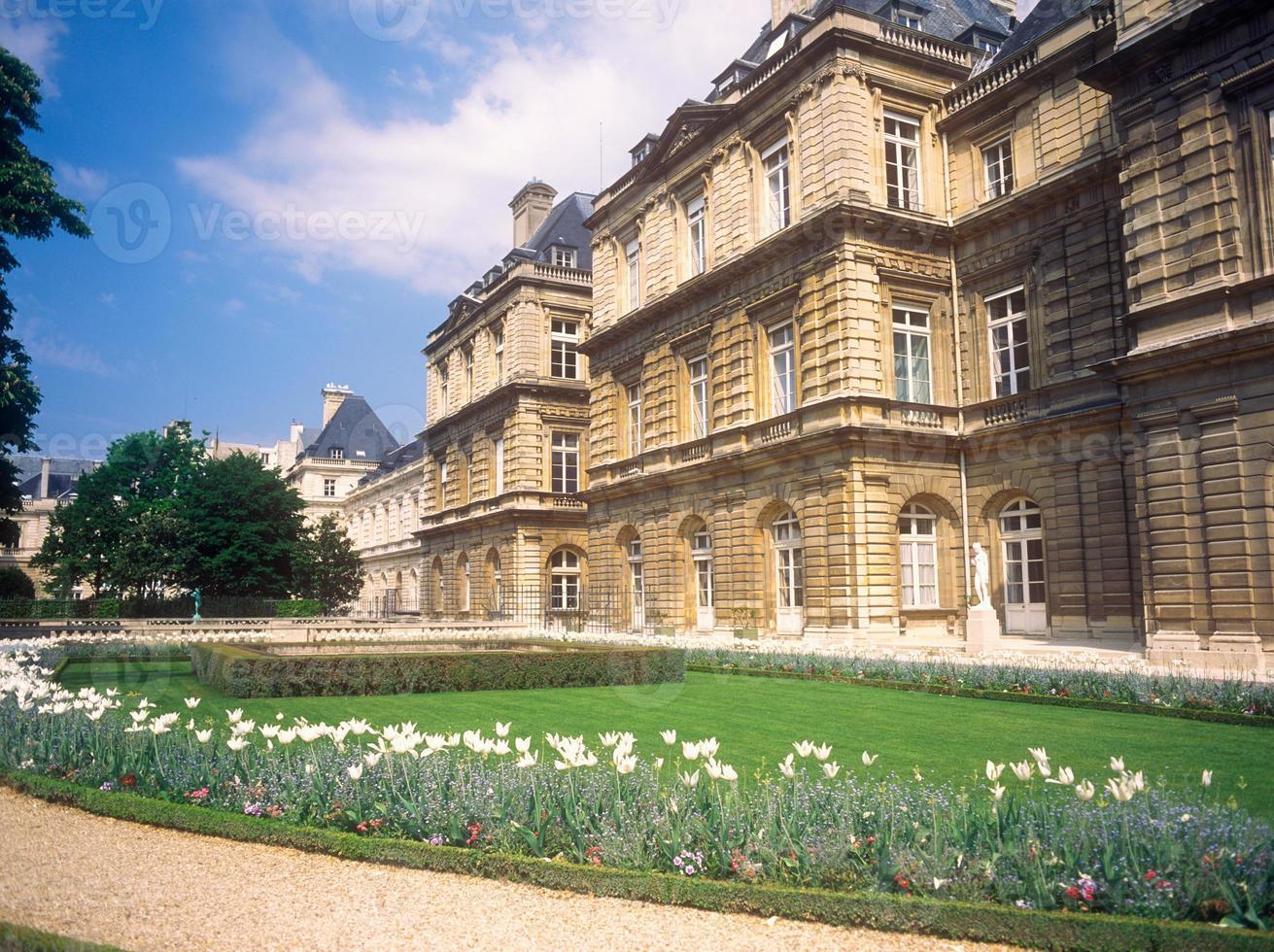 jardin du luxembourg. foto