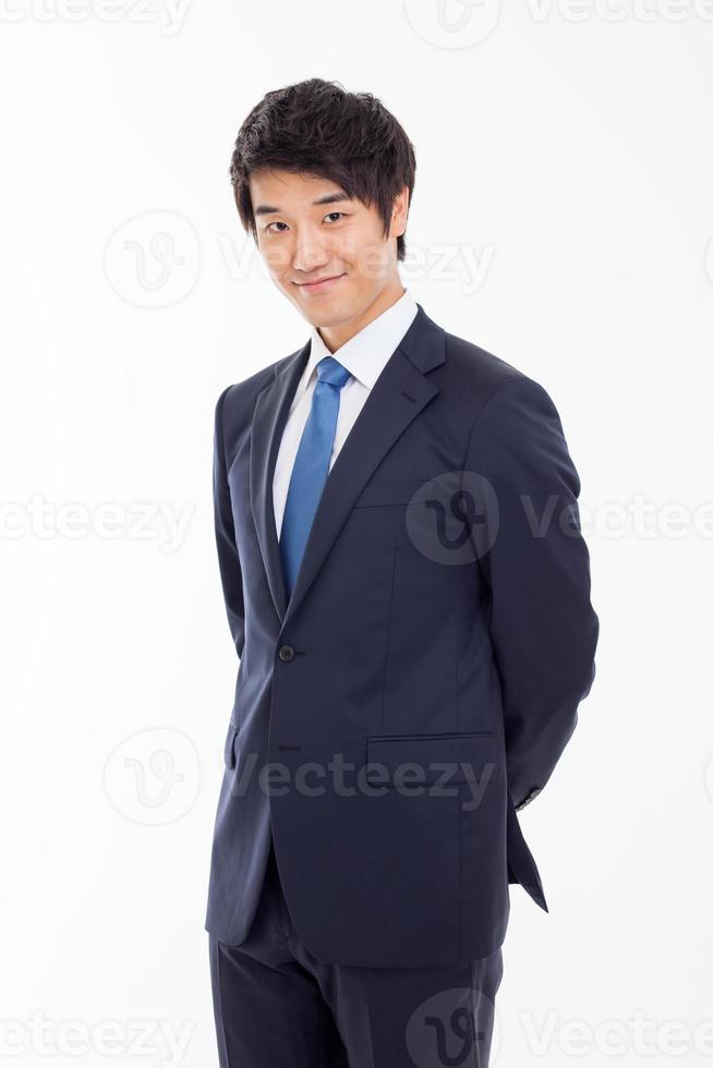 Aziatische jonge zakenman foto