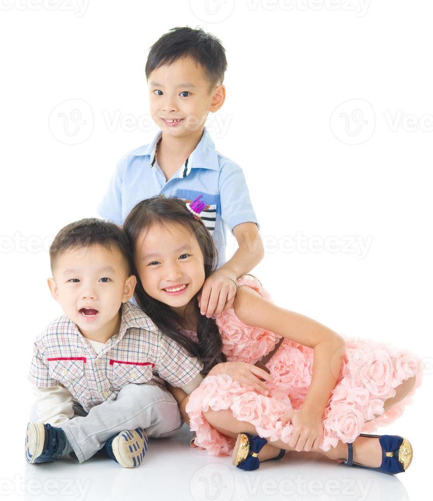 Aziatische kinderen foto