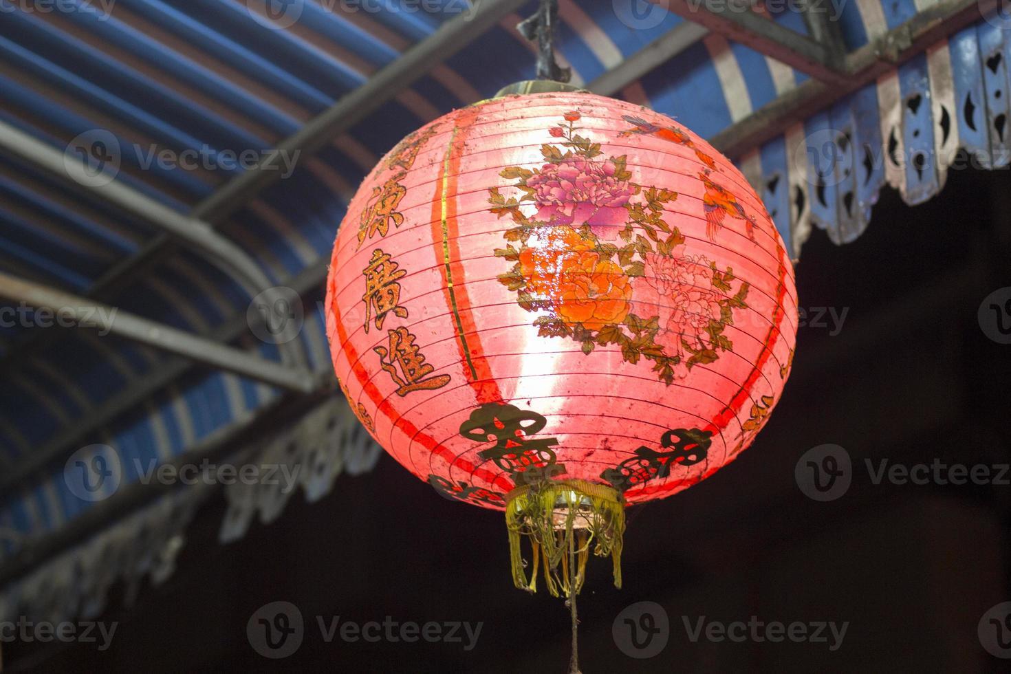 traditionele Aziatische lampion foto